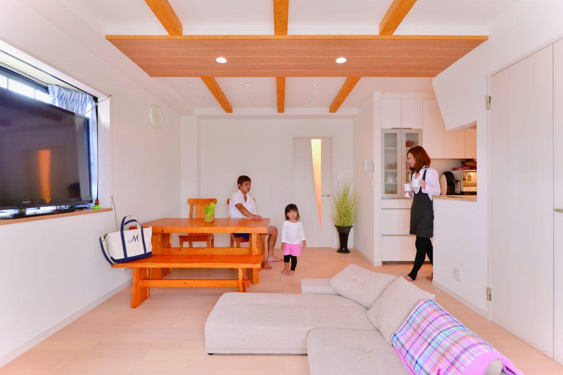3世代が同居していた空間をうまく住み分けて二世帯住宅に